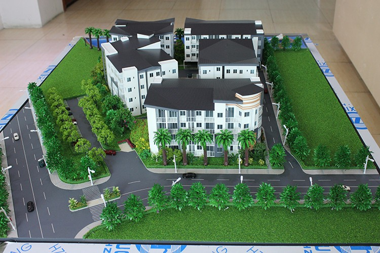 Classification and purpose of using architectural model.