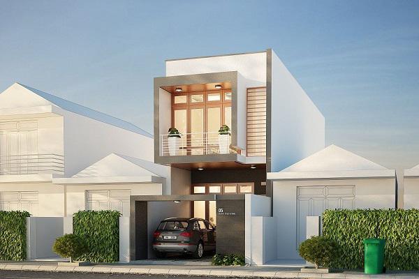 Dẫn đầu xu hướng kiến trúc 2019 với 5 mẫu nhà ống 2 tầng 3 phòng ngủ chỉ 400 triệu