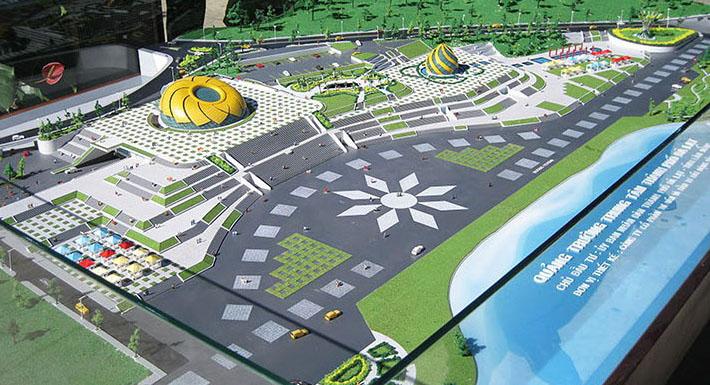 Quảng trường trung tâm TP Đà Lạt - Chủ đầu tư: UBND Đà Lạt
