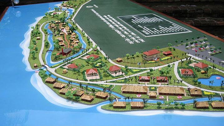 Khu lưu niệm Nhà Bè Quận 7 HCM - CTY Phát Triển Công Nghiệp Tân Thuận