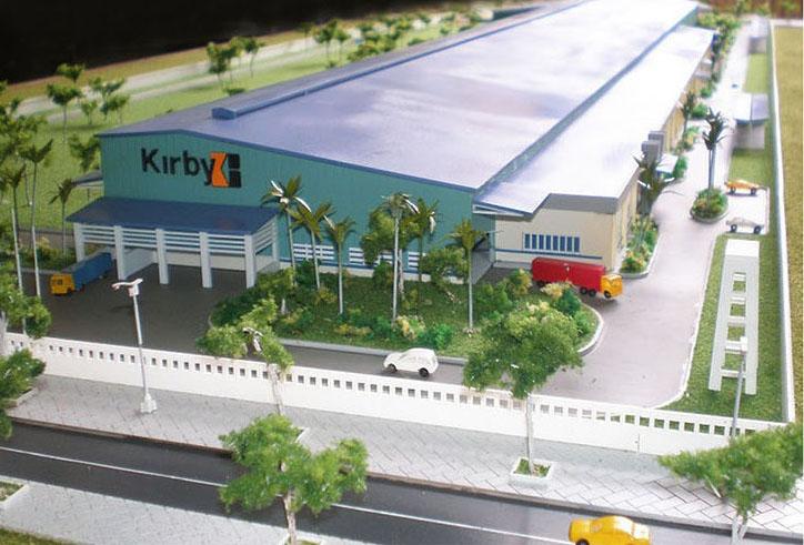 Nhà máy Kirby Bình Dương - Chủ đầu tư: Cty CP CN Kirby