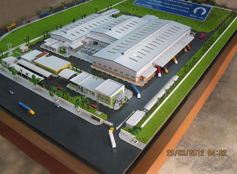 Nhà máy sơn Akzonobel Bình Dương - Chủ đầu tư: Cty CP Sơn Akzonobel VN