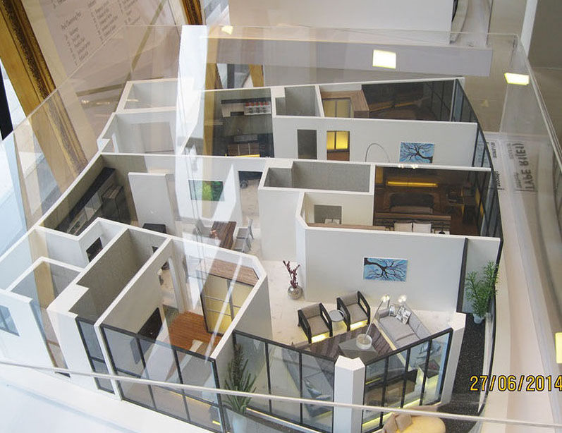 Somerset Residence Căn E1 - Chủ đầu tư: Cty Zone Architect