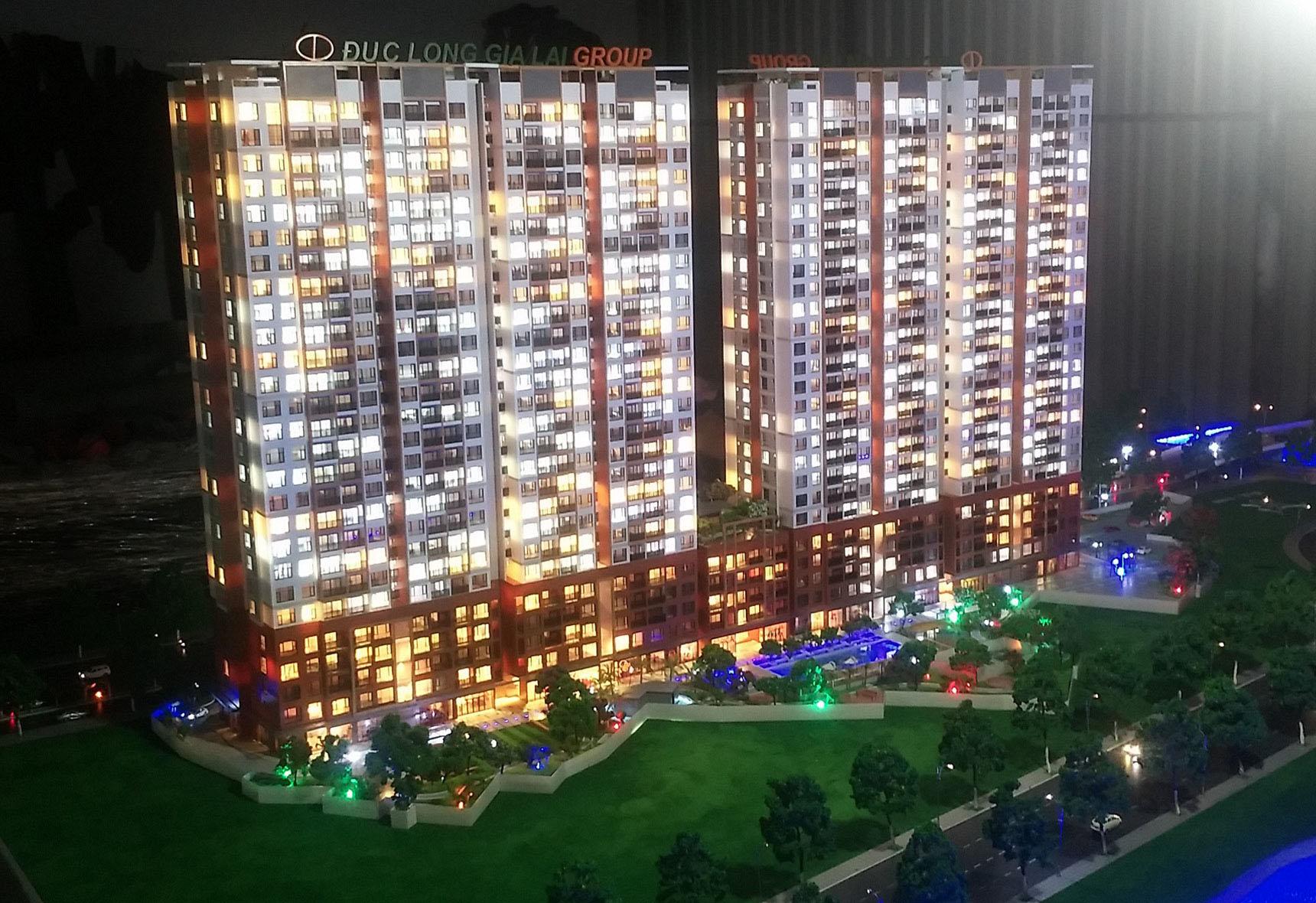 Tổ hợp chung cư Golden Land quận 7 - Chủ đầu tư: CTY CP Đức Long Gia Lai