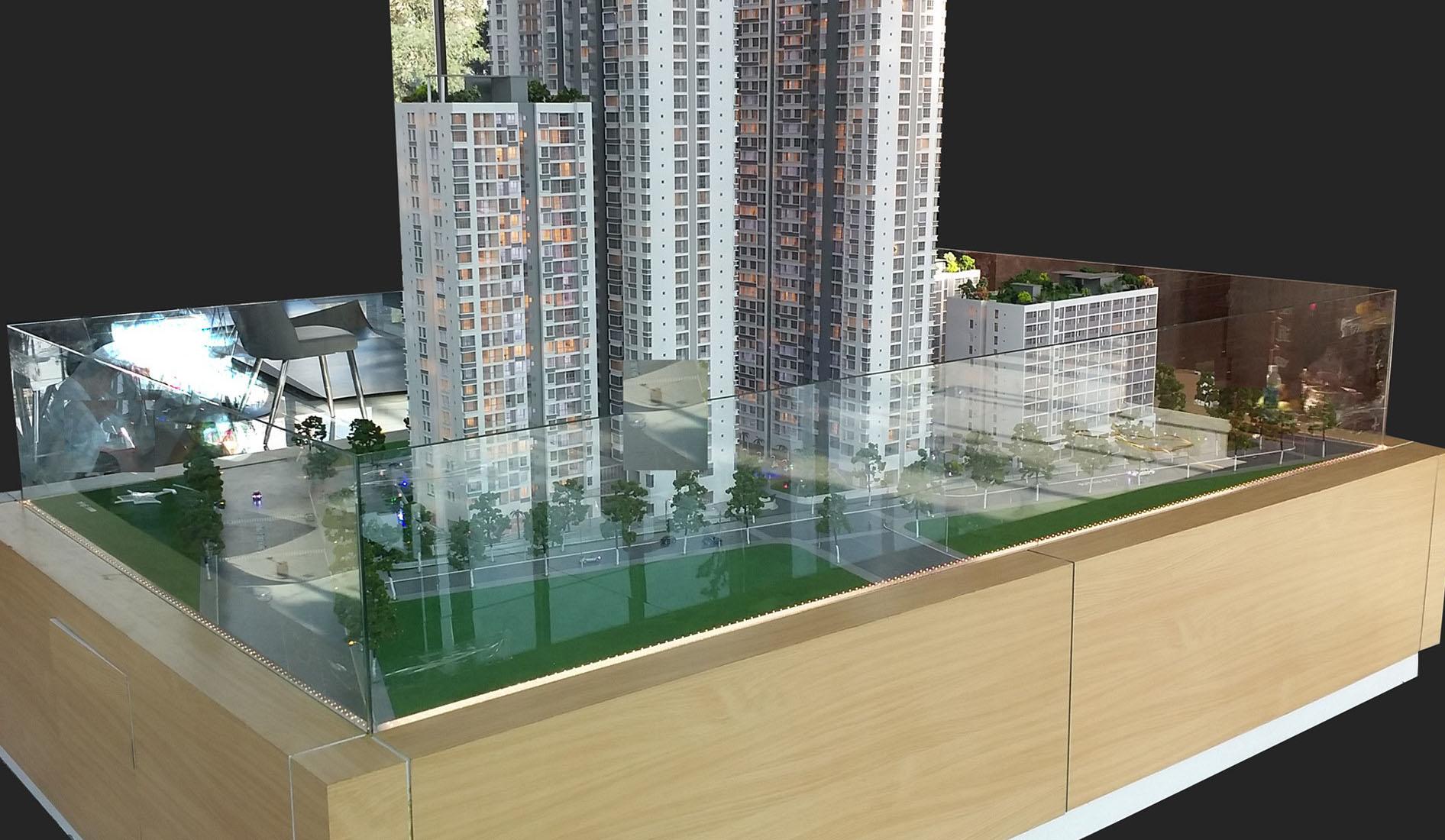 Tổ hợp the Capital quận 6 - CTY CP đầu tư Eximbank