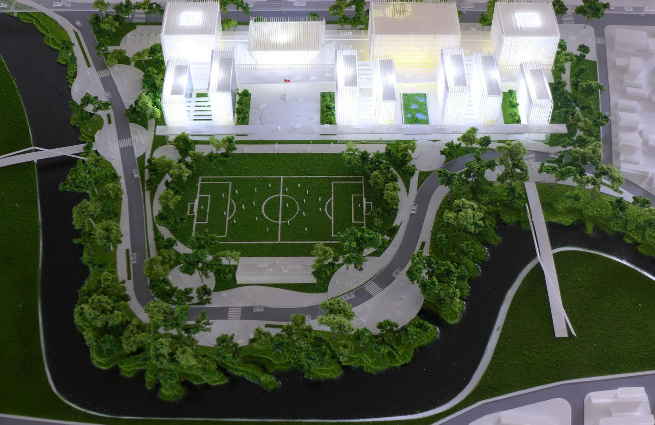Trường đại học Văn Lang - Chủ đầu tư: DESO ARCHITECTS